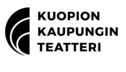 Kuopion kaupungin teatteri, logo, kumppanuus.